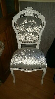 French louis style chair made to order