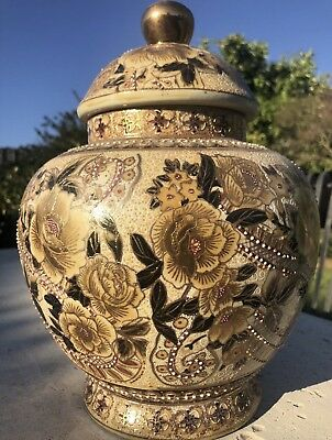 Chinese Urn By MAGNANI POTTERY