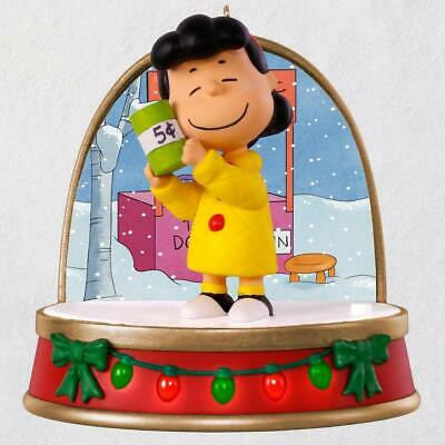 Hallmark Keepsake 2018 A Charlie Brown Christmas Lucy Ornament