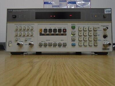 Keysight  Agilent 8902A Measuring Receiver with opt's 002,30,33,37,050 (Works!)