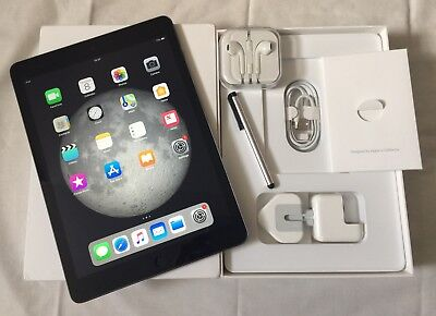 "*GRADE-A* Apple iPad Air 1st Gen. 32GB,Wi-Fi, 9.7"" Retina disp- Space Grey+EXTRA"