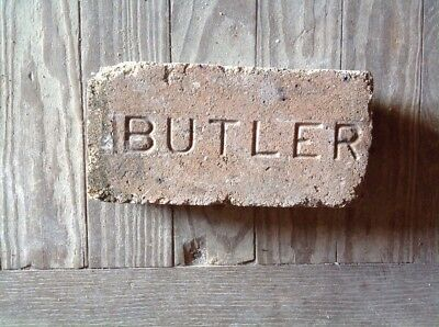 Antique Brick Stamped ****  Butler   ********