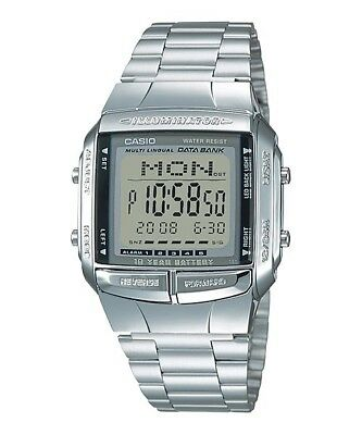 Casio DB360-1A 30 Page Multilingual Databank Men's Wrist Watch NEW