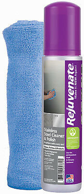 FOR LIFE PRODUCTS LLC Stainless Steel Cleaner/Polish, 10-oz. RJ10SS