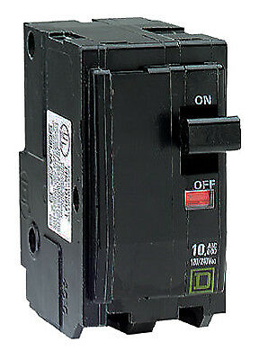 SQUARE D BY SCHNEIDER ELECTRIC QO 40-Amp Double-Pole Circuit Breaker QO240CP
