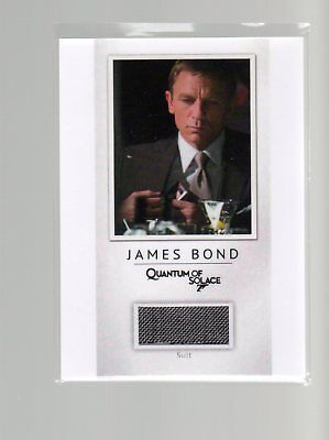 James Bond Archives 2017 Final Edition PR24 James Bond Relic 121/200