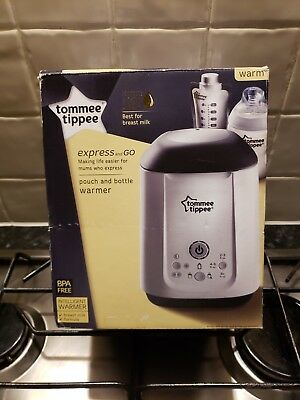 Tommee Tippee Express and Go Baby Bottle and Pouch Warmer