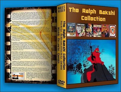 The Ralph Bakshi DVD Collection NEW Sealed