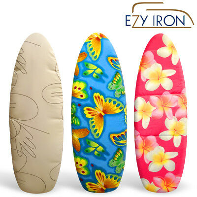 Ezy Iron Premium Thick Heat Reflective Padded Ironing Board Cover Covers