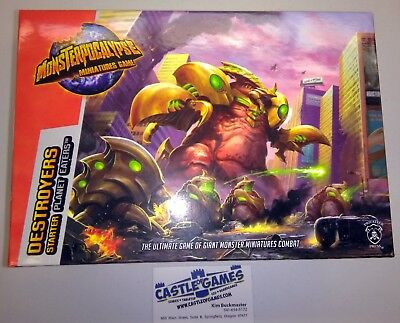 Monsterpocalypse PIP51002 Destroyers Starter (Planet Eaters) Privateer Press NIB