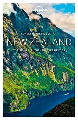 NEW Best of New Zealand By Lonely Planet Travel Guide Paperback Free Shipping