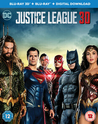 Justice League Blu-ray (2018) Ben Affleck, Snyder (DIR) cert 12 2 discs