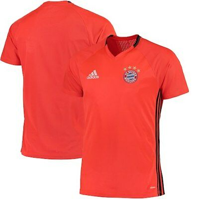 Bayern Munich adidas 2016/17 Training Jersey - Orange
