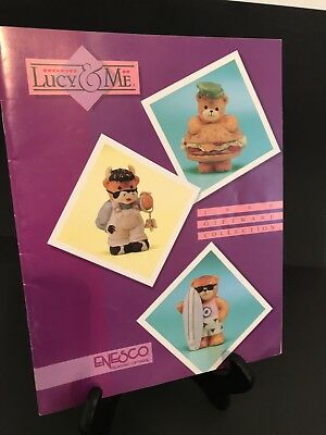 Lucy & Me/Lucy Rigg 1990 Giftware Collection Catalog; FREE PRIORITY SHIPPING!!