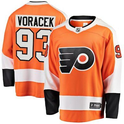 Jakub Voracek Philadelphia Flyers Fanatics Branded Breakaway Player Jersey - d7fc5f199