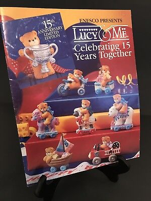 Lucy & Me/Lucy Rigg 1993 Celebrating 15 Yrs Together Catalog;FREE PRIORITY SHIP!