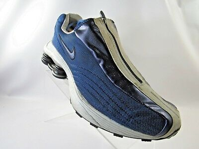 0c0e07f03237ae NIKE SHOX R4 104311-411 Size 11 M Blue Zip Up VINTAGE 2001 Running Mens  Shoes -  239.99