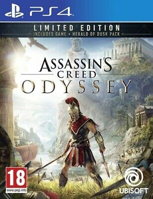 Assassin's Creed: Odyssey: Limited Edition (PS4) Adventure: Free Roaming