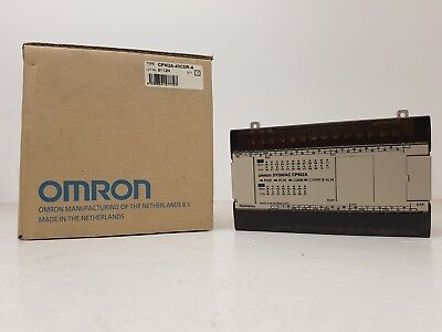 Omron Cpm2A-40Cdr-A Plc Cpu 40 I/O 24 In 12 Out