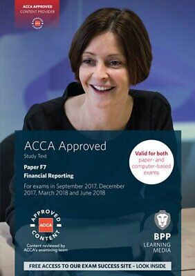 ACCA F7 Financial Reporting: Study Text by BPP Learning Media Book The Cheap