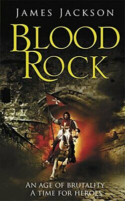 Blood Rock by Jackson, James Paperback Book The Cheap Fast Free Post