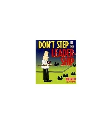 Dilbert;Don't Step in Leadership (A Dilbert Book) by Adams, Scott Paperback The