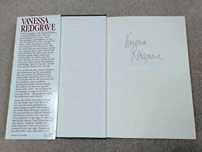 Vanessa Redgrave: An Autobiography by Redgrave, Vanessa Hardback Book The Cheap