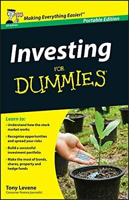 Investing for Dummies UK Edition Whs Tra by Levene, Tony Book The Cheap Fast