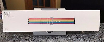 New SEALED Genuine Apple  Watch Band 38mm 2018 PRIDE EDITION NIB Authentic 40