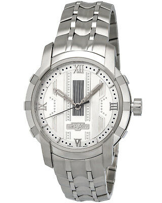 DeWitt Glorious Knight Stainless Steel White Automatic Men's Watch FTV.HMS.002.S