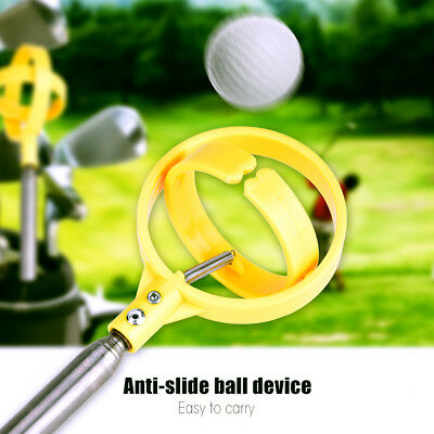 Practical 8 Sections Golf Picker Telescopic Ball Pick-up Tool Retriever Scoop CO