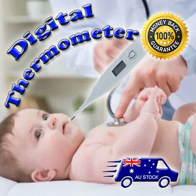 Body Temperature Measurement Tool LCD Screen Digital Thermometer Baby Body kids