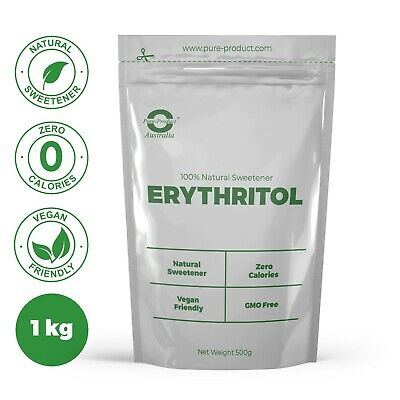 1KG  Erythritol 100% Pure Natural Sweetener Sugar Substitute