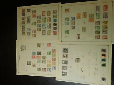 Old Hungary Large Lot of Stamps & Album Pages collection KS0025