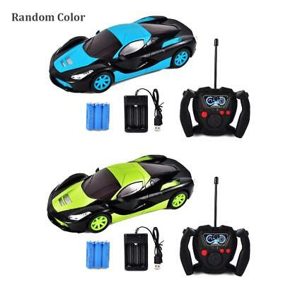 Kids Remote Control Racing Car Toy RC Mini Electric Toy Car Model with Light