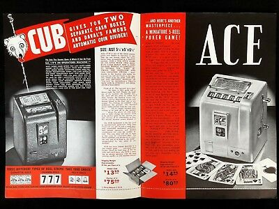 Daval Advertising for the Cub and Ace Original