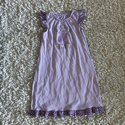 fa3bec3e1 CARTER S NIGHTGOWN GIRLS SIZE XS SHORT SLEEVE TEAL w  CUPCAKES ...