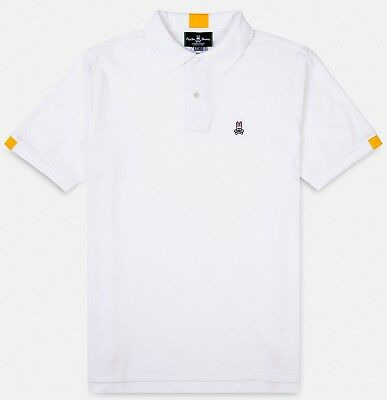 Psycho Bunny, Mens Neon Tipped Golf Polo