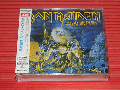 42014 Japan 2 Cd Iron Maiden Live After Death