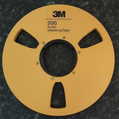 """Brand new M3 10.5 x 1/4"""" Reel without Tape"""
