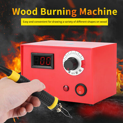 HIGH RESISTANCE Wood Burning Pen Tips Soldering Tools 50W 220V Pyrography Kit