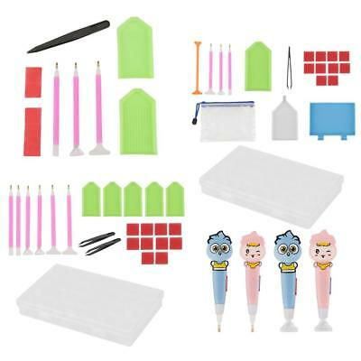 5D DIY Diamond Painting Needlework Embroidery Pen Tool Accessories Set Gift