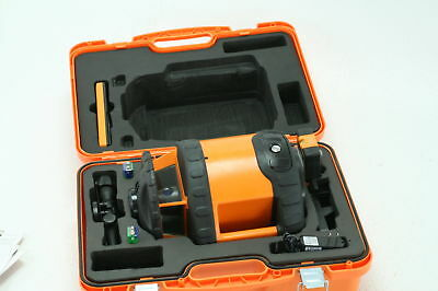 Johnson Level Tool 40 6580 Orange Dual Grade Laser Class Dual Slope Operation