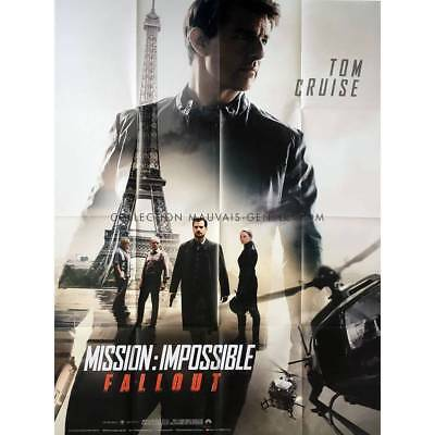 MISSION IMPOSSIBLE FALLOUT Affiche de film  - 120x160 cm. - 2018 - Tom Cruise, C