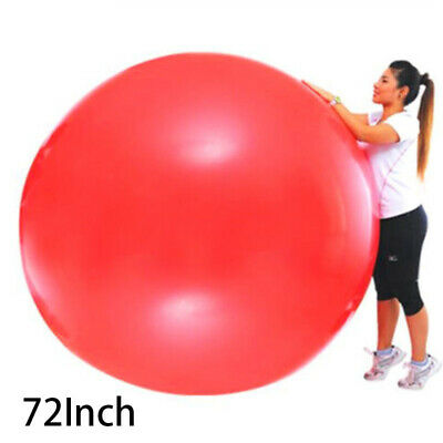 "72"" Big Large Latex Balloon Giant Party Jumbo Huge Wedding Helium F"