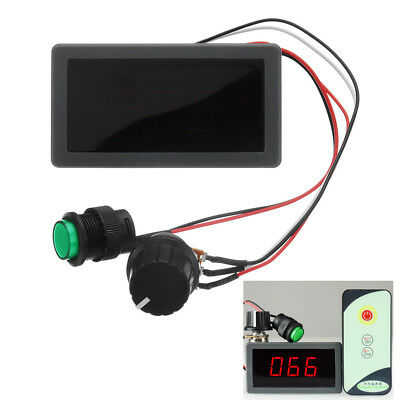 DC 6V/12V/24V 6A/8A PWM Motor Speed Controller Digital LED Display Variable Spee