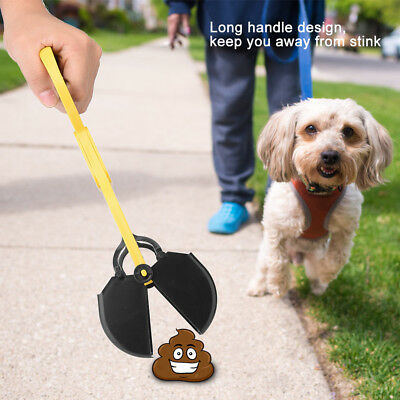 Outdoor Pet Puppy Dog Waste Easy Pickup Pooper Scooper Walking Poop Scoop Remove