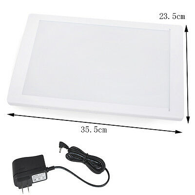 US Dental X-Ray Film Illuminator Light Box Viewer light Panel A4 AC Power Source
