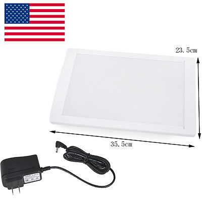 USA Dental X-Ray Film Illuminator Light Box X-ray Viewer light Panel A4 LED Seal