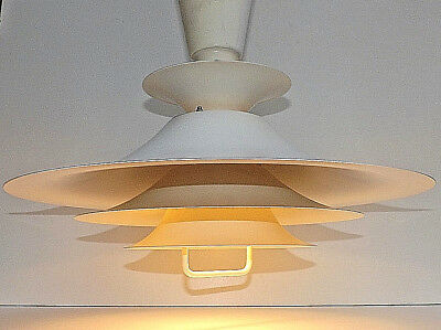 Vintage 60s/70s Large Scandinavian UFO Style Ceiling Light